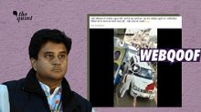Old Clip of Jyotiraditya Scindia Viral As Recent Rally in MP's Gwalior