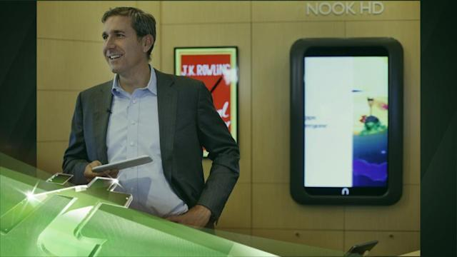Latest Business News: With Declining Nook Sales, Lynch Steps Down As B&N's CEO