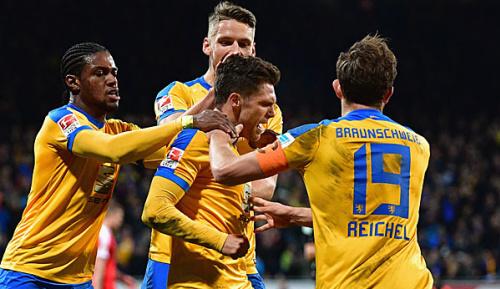 2. Liga: Boland schießt Braunschweig zum Sieg