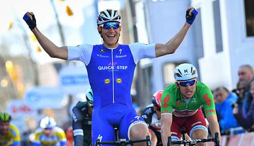 Radsport: De Panne: Kittel gewinnt ersten Teil der dritten Etappe