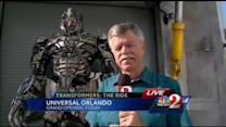 Transformers: The Ride opens at Universal