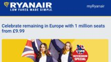 Ryanair Leaves Cheap Flight Fans Cringing With EU Email Gaffe