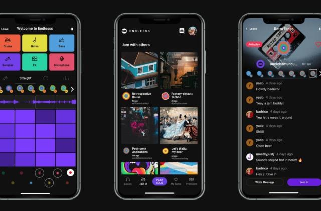 Endlesss is a simple, fun music collaboration app