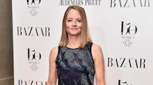 Jodie Foster celebrates Golden Globes win with wife and dog in matching pyjamas