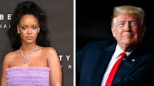 Trump Has Been Playing Rihanna Songs At Rallies. 'Not For Much Longer,' Singer Says.
