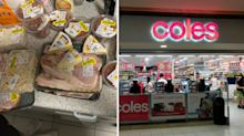 Mum defends Coles markdown spree after shoppers hit out