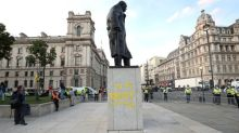 Extinction Rebellion protester who daubed 'racist' on Winston Churchill statue faced death threats