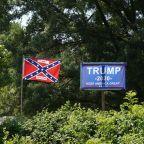 Trump says Confederate flag proud symbol of U.S. South