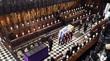 Prince Philip funeral: Where the 30 guests sat in St George's Chapel