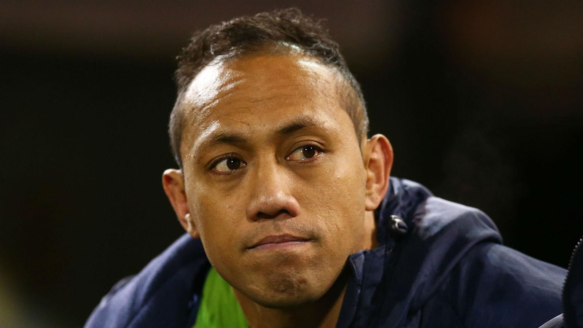 Christian Lealiifano thought he would never play rugby ...