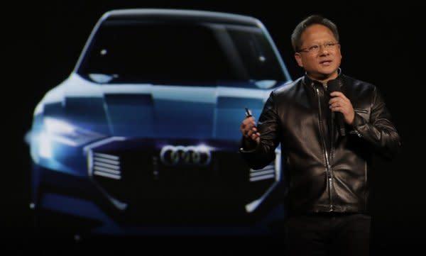 聯手VOLKSWAGEN、UBER,台灣之光NVIDIA打造未來智慧車版圖