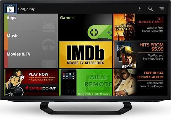Google Play Music and Movies purchasing reaches Google TV, patches a media strategy hole