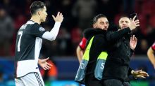 'Are you crazy?': Ronaldo flips out at pitch invader after rough encounter