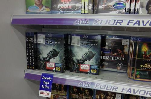 The Dark Knight Blu-ray Disc sneaks onto store shelves early