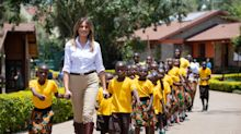 'This is who she is': The internet responds to Melania Trump's big smile during Africa trip