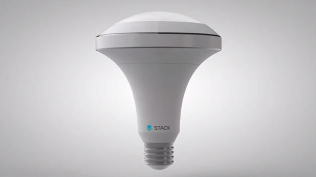 Stack's smart light bulb responds to the world around you