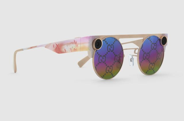Snap teams up with Gucci on limited-edition 3D Spectacles
