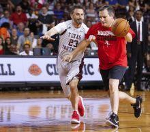 Ted Cruz Defeats Jimmy Kimmel in 'Blobfish' Charity Basketball Game
