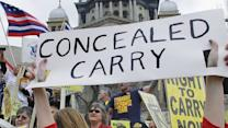 Do Americans have the right to carry concealed weapons?