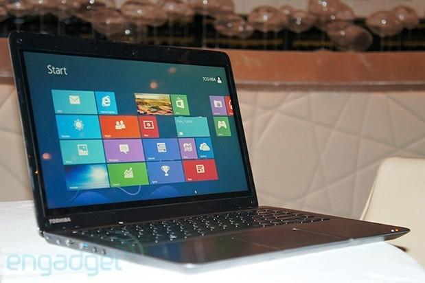 Toshiba unveils $800 Satellite U845t: a touchscreen Ultrabook for the budget crowd (hands-on photos)