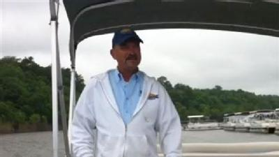 Raw Video: Pontoon Driver