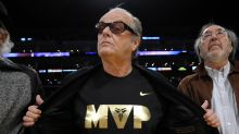 Jack Nicholson gives rare interview to pay tribute to Kobe Bryant