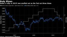 Mieser Dezember für Dollar spricht für weitere Verluste 2020