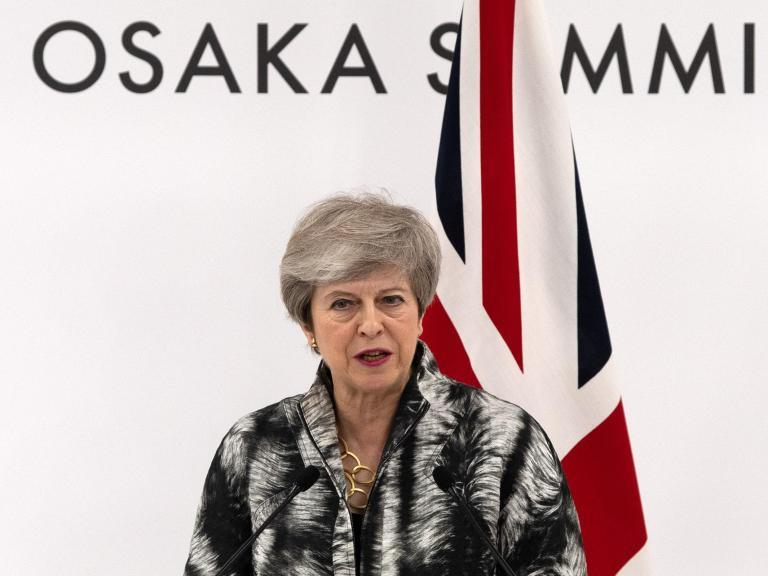 A Plea For Traditional And >> Theresa May Pleads With Conservative Party Not To Abandon