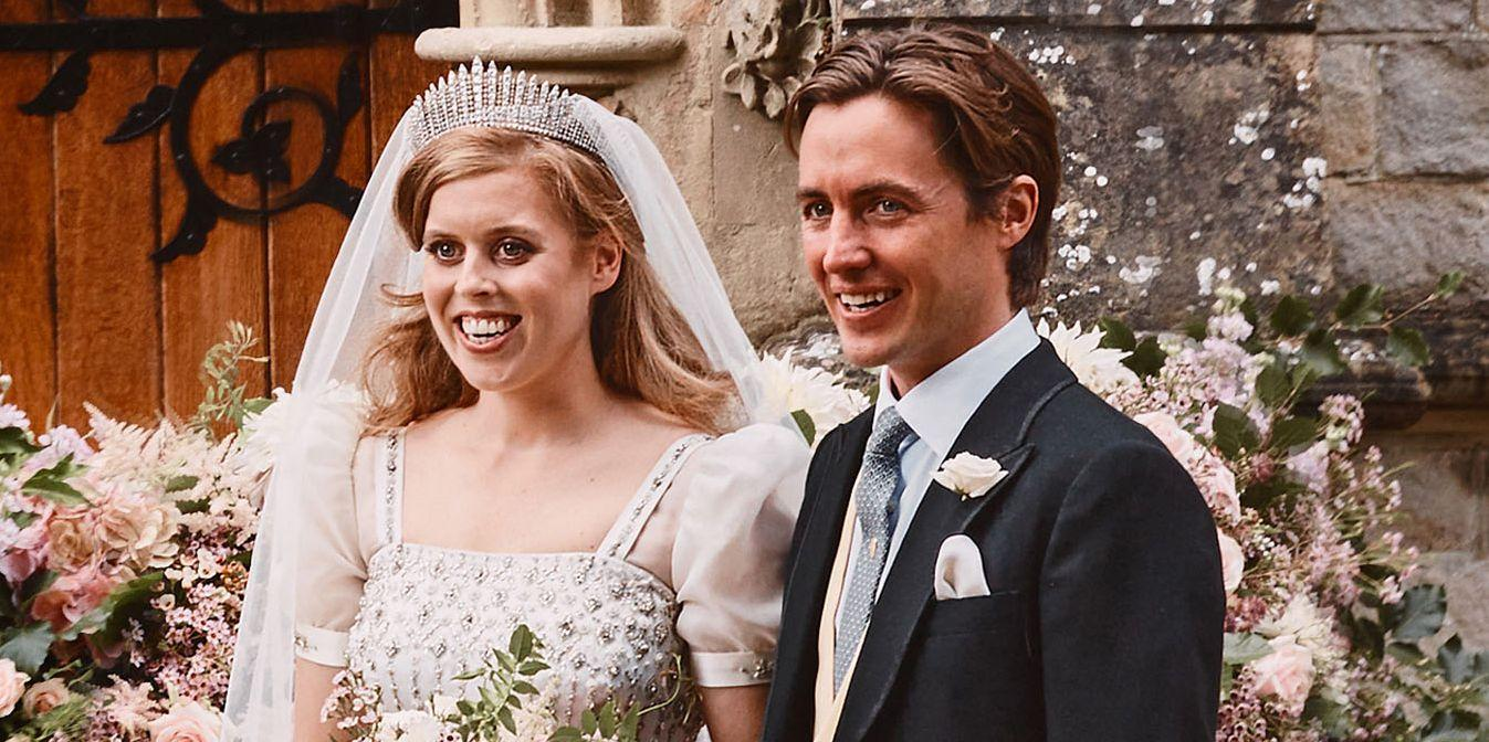 Princess Beatrice S Wedding Dress Was A Stunning Vintage Gown On
