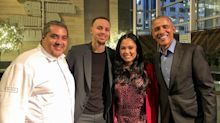 Barack Obama Dined at Ayesha Curry's San Francisco Restaurant—and Chrissy Teigen Was There Too!