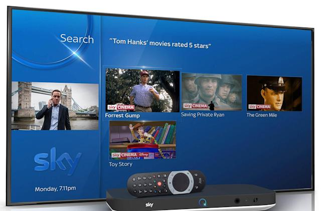 Sky Q's promised voice search feature is finally here