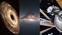 O céu (não) é o limite | Buraco negro desaparecido, dobra da Via Láctea e mais!