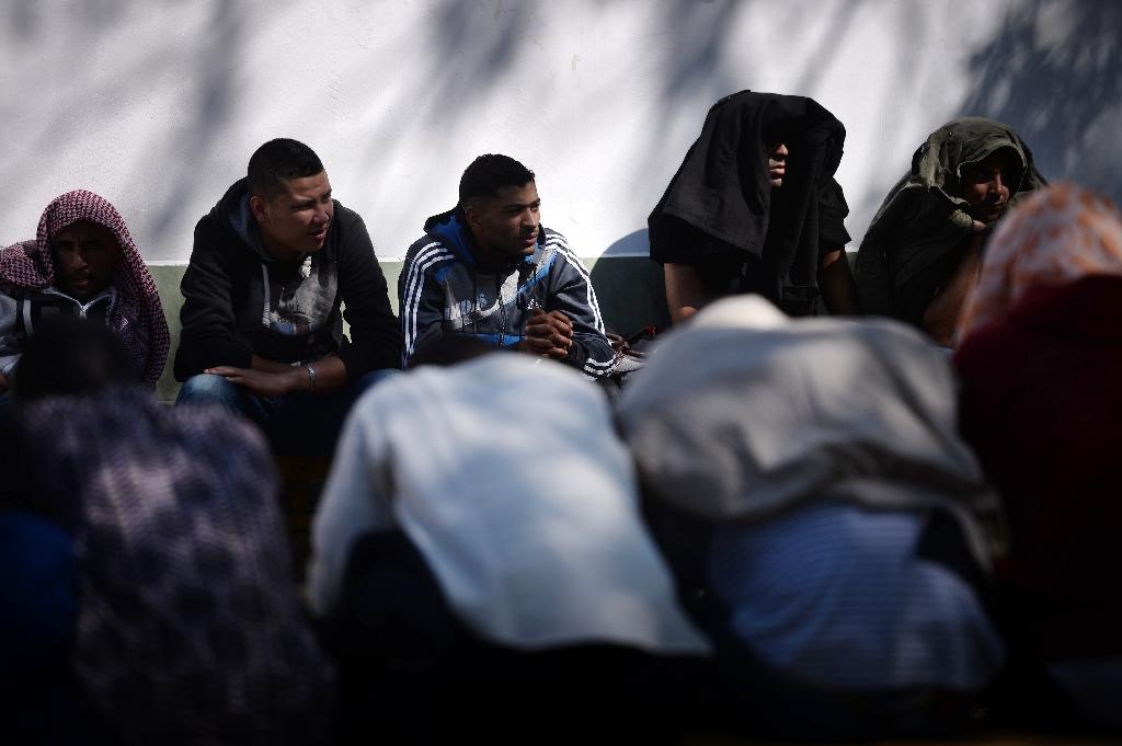 The project is part of a six billion euro deal struck between Brussels and Ankara to curb the migrant influx into Europe, which saw more than a million arrive in the EU last year (AFP Photo/Dimitar Dilkoff)