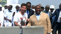 Soccer star paid for visit to Gabon?