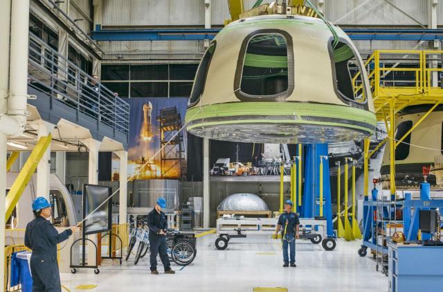 Blue Origin's next flight will end in a crash-landing