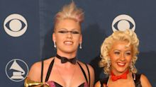 Pink reveals Christina Aguilera once tried to PUNCH her during the height of their feud