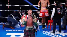 Josh Taylor after emphatic victory: 'I want Jose Ramirez next. I want that fight as soon as possible'