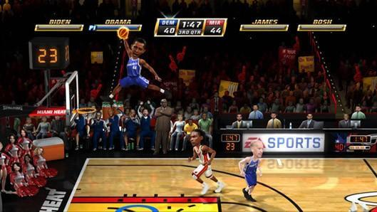 Obama, Palin, others playable in NBA Jam