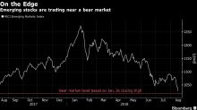 Emerging Markets Get Pummeled and Are on the Cusp of a Bear Market