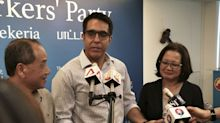 Pritam Singh elected as new Workers' Party chief