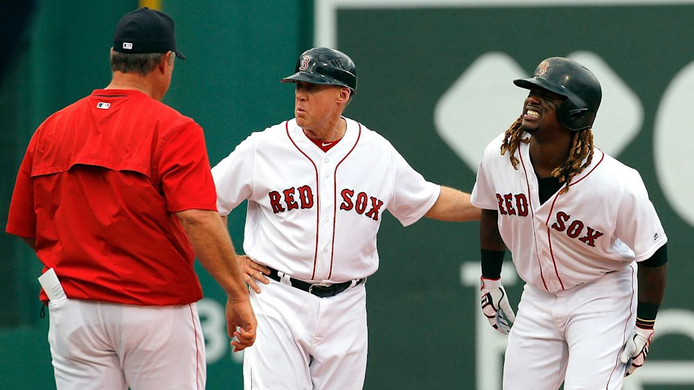 Red Sox's Hanley Ramirez vows to play Monday after hamstring problem Sunday