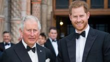 Claims Charles planned one-on-one dinner with Harry but 'dreaded' it