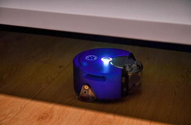 Dyson's second robot vacuum isn't afraid of the dark