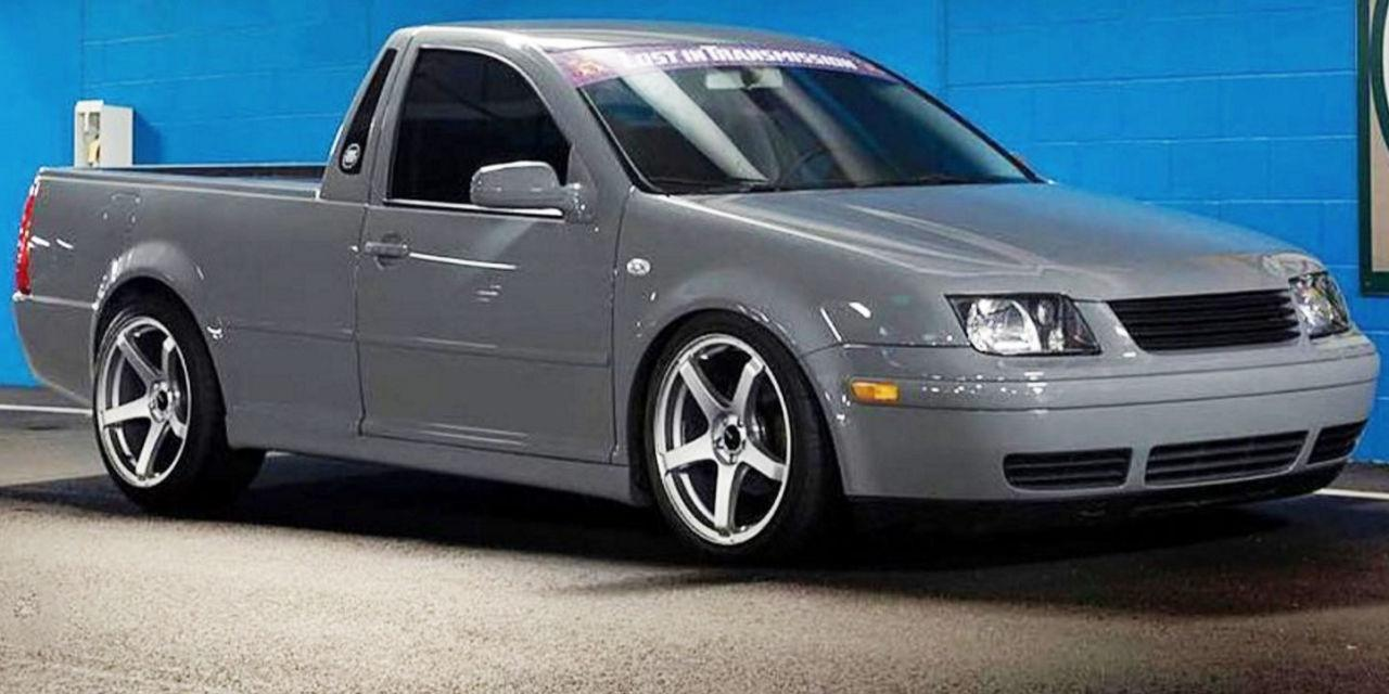 watch a guy turn an old vw jetta into a pickup truck in just 30 minutes. Black Bedroom Furniture Sets. Home Design Ideas
