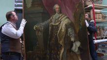 Un portrait de Louis XV, accroché dans la mairie de Moissac, se révèle être une toile de maître