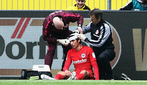 """Bundesliga: Frankfurt sorgt sich um verletzten Vallejo: """"Fürsorgepflicht"""""""