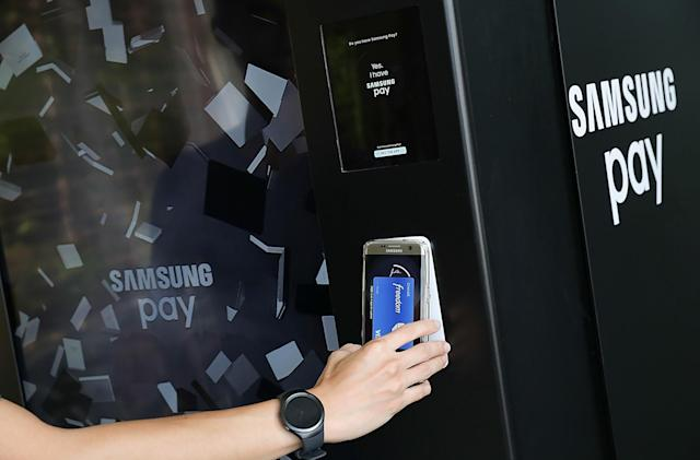 Samsung Pay won't reach the UK until sometime next year