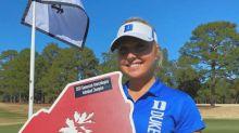 Women's college golf player of the week: Erica Shepherd, Duke