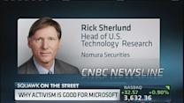 Why activism is good for Microsoft: Analyst