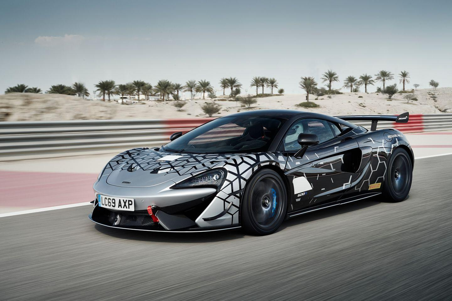 """<p>You could argue the normal 570S would be more fun with a manual transmission. But not the track-ready <a href=""""https://www.roadandtrack.com/new-cars/a30167746/2020-mclaren-620r-pictures-specs-hp-info/"""" rel=""""nofollow noopener"""" target=""""_blank"""" data-ylk=""""slk:620R"""" class=""""link rapid-noclick-resp"""">620R</a>. It takes cues directly from the company's GT4 car, and it's been designed for one purpose only: to lay down fast lap times. A manual would only make things slower. </p>"""